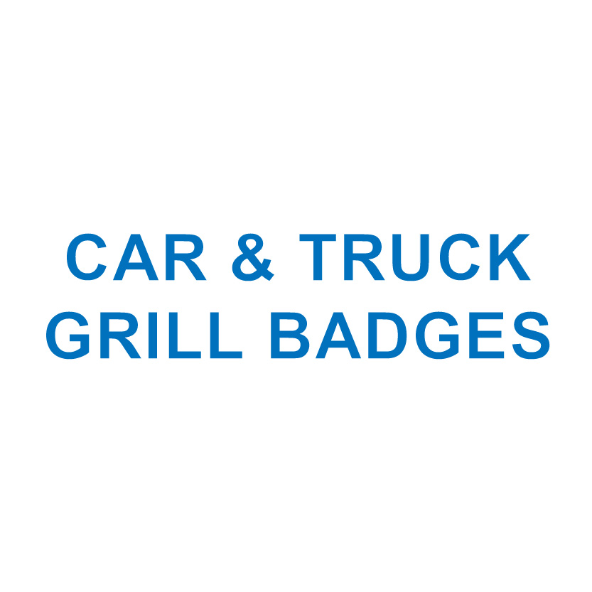 CAR & TRUCK GRILL BADGES