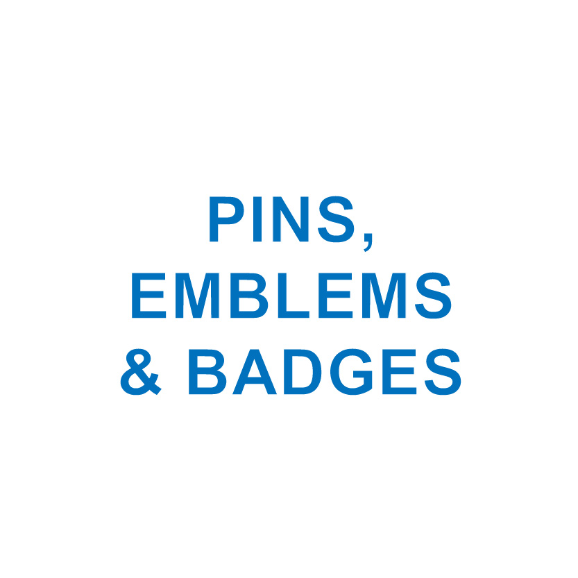 PINS, EMBLEMS & BADGES