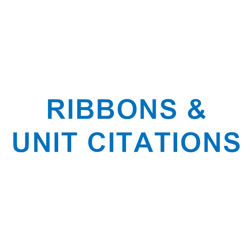 Ribbons & Unit Citations