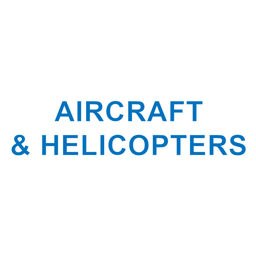 AIRCRAFT & HELICOPTERS