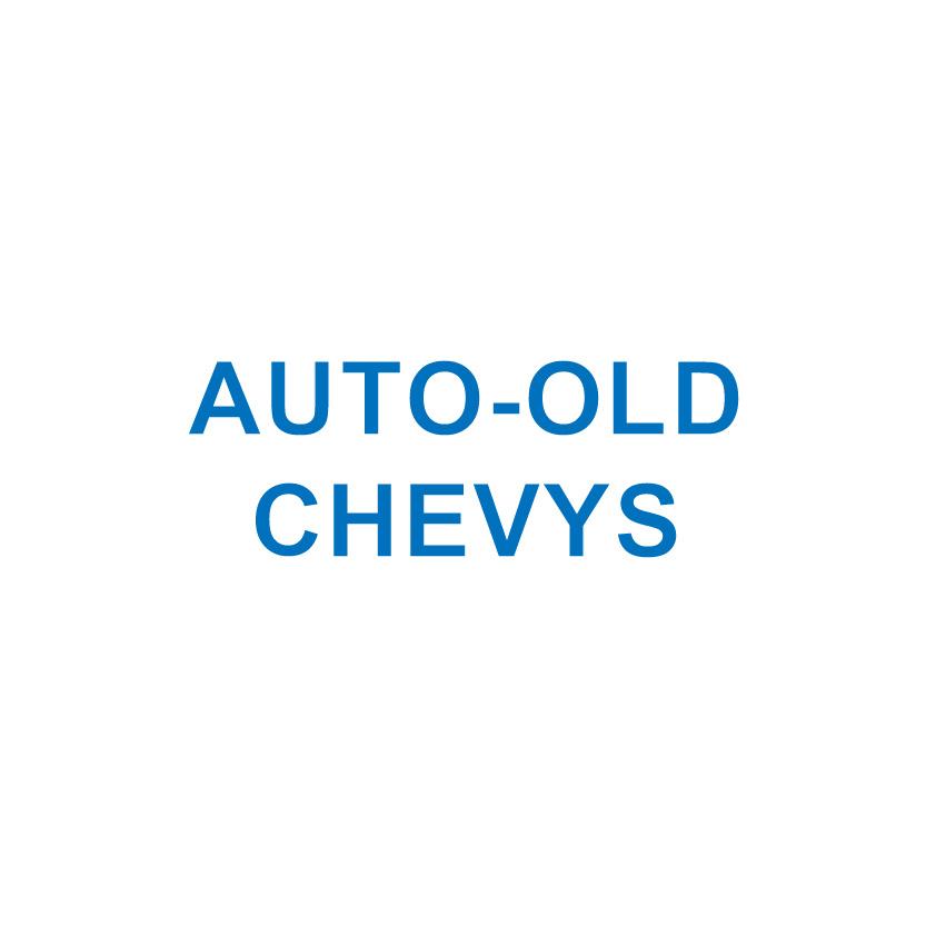 AUTO-OLD CHEVYS