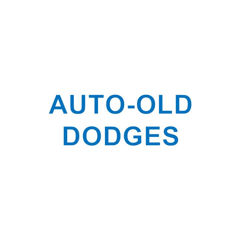 AUTO-OLD DODGES