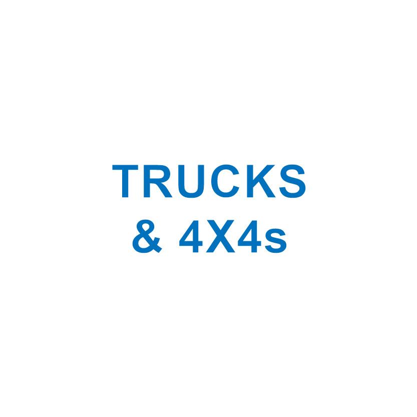 TRUCKS & 4X4s