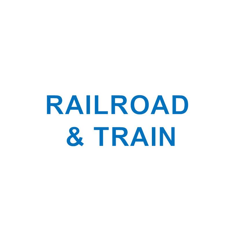 RAILROAD & TRAIN