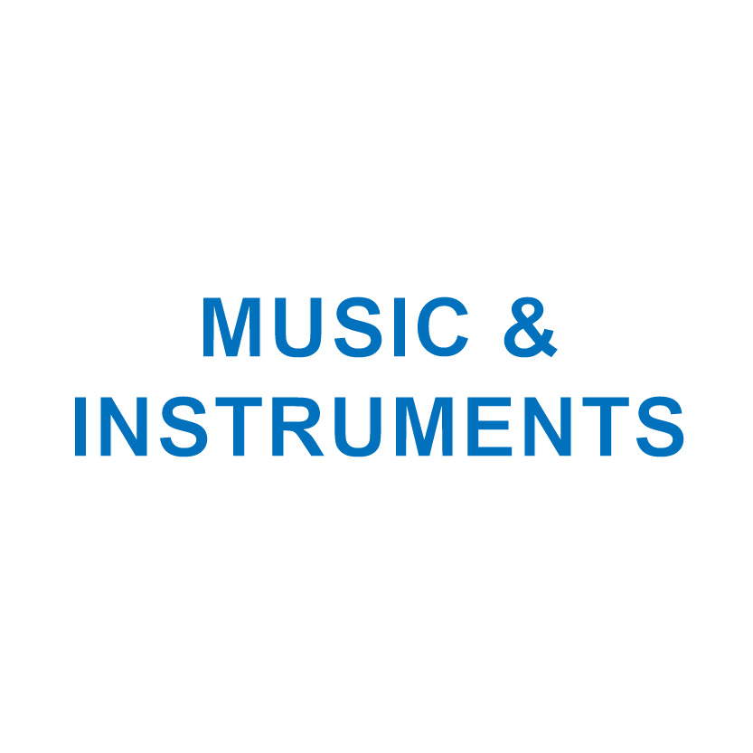 MUSIC & INSTRUMENTS
