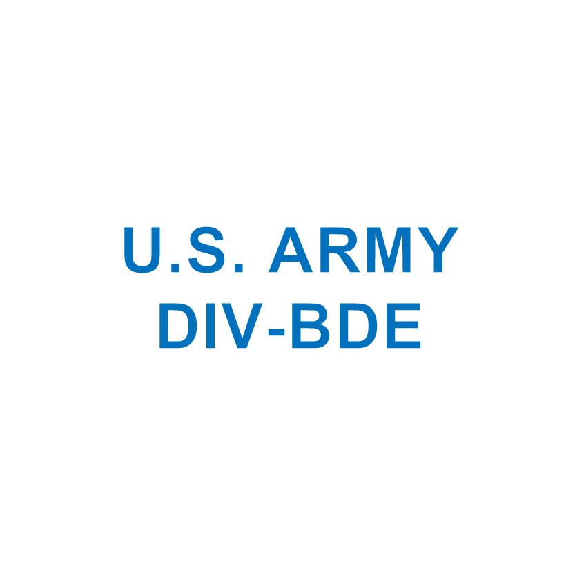 U.S. ARMY DIV-BDE
