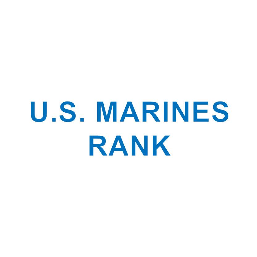 U.S. MARINES RANK
