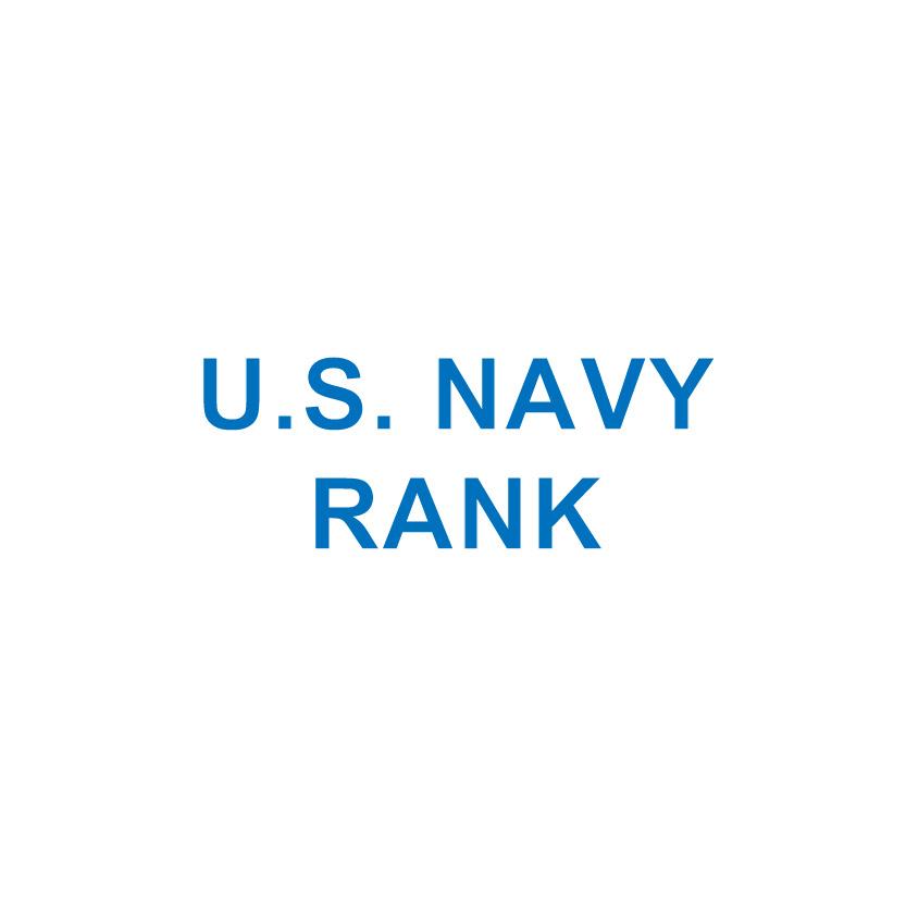 U.S. NAVY RANK