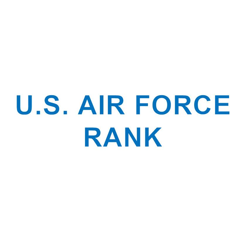 U.S. AIR FORCE RANK
